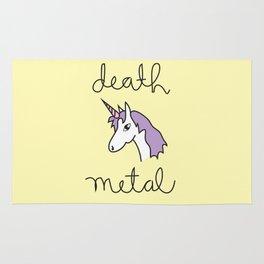 Death Metal Unicorn Rug