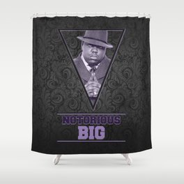 *Notorious BiG* Shower Curtain
