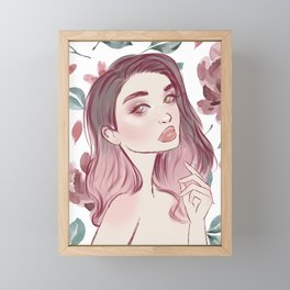 Freckles Framed Mini Art Print