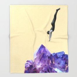Crystal Clear Throw Blanket
