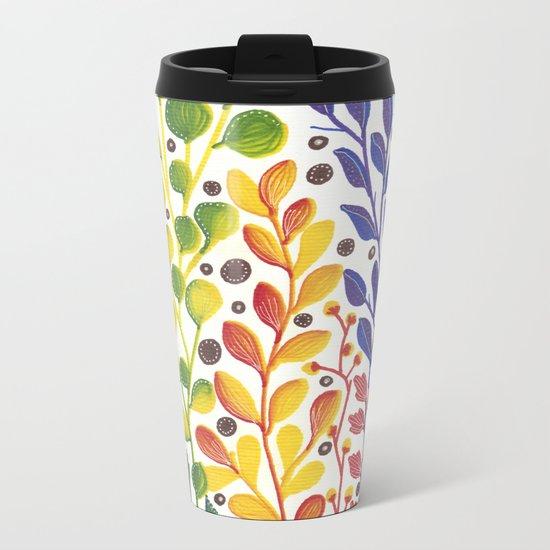 Spring vibes II Metal Travel Mug