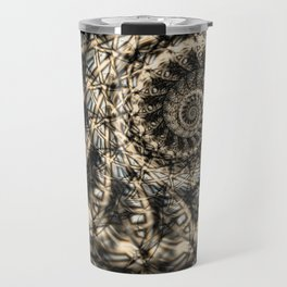 Crosshatch Travel Mug