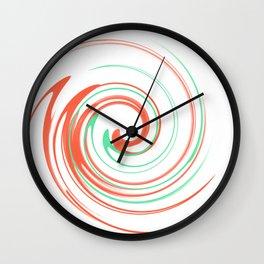 Spinning around Wall Clock