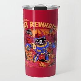 Cat Revolution Travel Mug