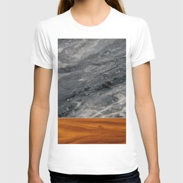 Marble and Wood 3 T-shirt