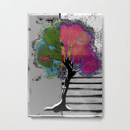 Tree Abstract1 Metal Print