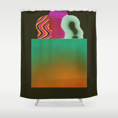 Bagged Groceries Shower Curtain
