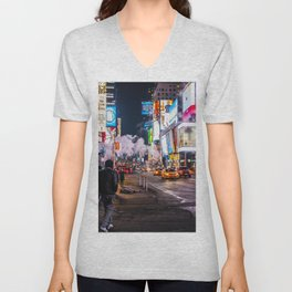 New York Hustle Unisex V-Neck