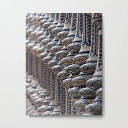 Detail #2 - Plaza de Espanha - Sevilla Metal Print
