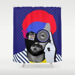Solomun By Sebas Rivas Shower Curtain