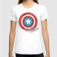 shield T-shirts featuring Shield by Chelsea Herrick