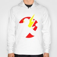 the flash Hoodies featuring Flash by Sport_Designs