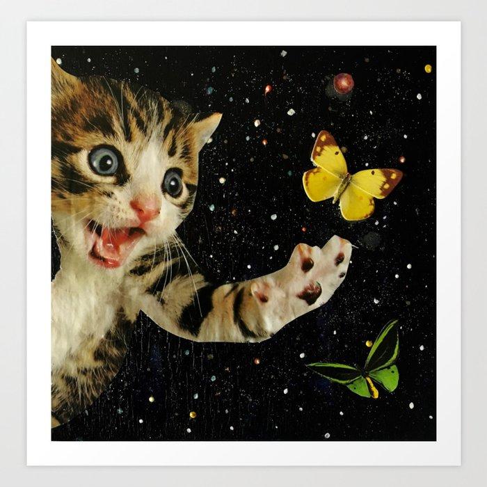 All Across the Universe Chasing Butterflies and Dreams Kunstdrucke