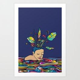 Spring Head Art Print