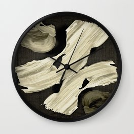 """Scandinavian Japanese Abstract"" Wall Clock"
