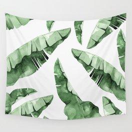 Banana Leaves 2 Wall Tapestry