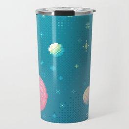 Brain Planet (8bit) Travel Mug