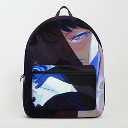 Night of Blue Roses Backpack