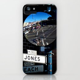 Jones & Beach iPhone Case