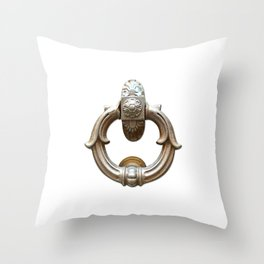 San Gimignano | Door Knocker Series Throw Pillow