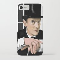 sherlock holmes iPhone & iPod Cases featuring Sherlock Holmes by Andy Harrison
