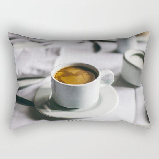Morning coffee Rectangular Pillow