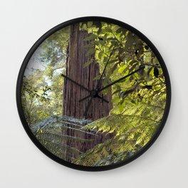 Wood Monolith Wall Clock