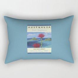 Art Travel Poster Gan Gan Rectangular Pillow