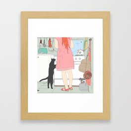 Iranian Kitchen Framed Art Print