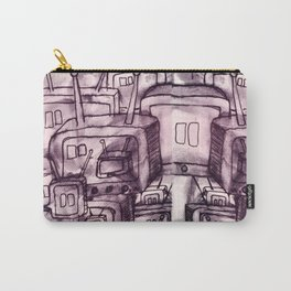 Saturday Morning Cartoons 2: TV Print Carry-All Pouch