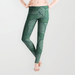 Sage Vines Leggings