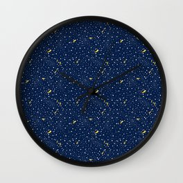 Stars and Comets Wall Clock