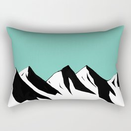 Mountaints Rectangular Pillow