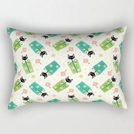 Vintage Kittens and Gift Boxes ©studioxtine Rectangular Pillow