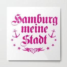 Hamburg - meine Stadt Metal Print