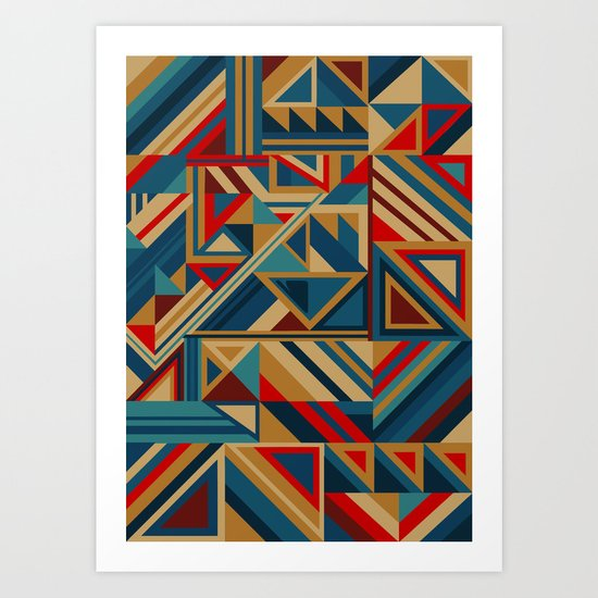 Colorgraphics I Art Print