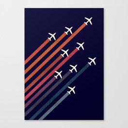 Aerial acrobat Canvas Print