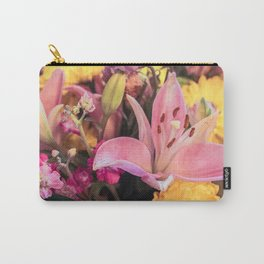 Bundle of Flowers. Carry-All Pouch