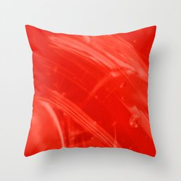 Strawberry Whole Food Syrup on My Mind! Throw Pillow