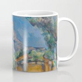 The Montagne Sainte-Victoire seen from the Bibémus quarry Coffee Mug