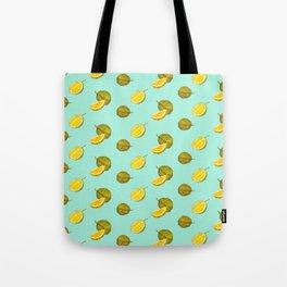 Durian II - Singapore Tropical Fruits Series Tote Bag