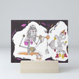 Robo Sapien Mini Art Print