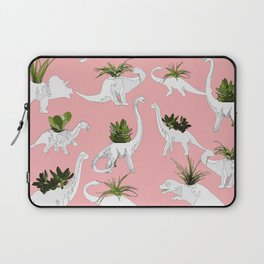 Dinosaurs & Succulents Laptop Sleeve
