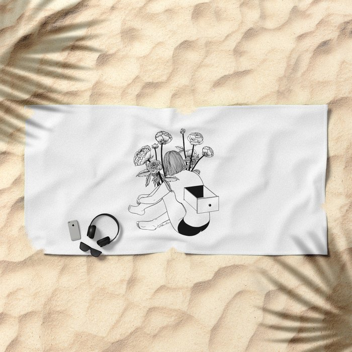 Beautiful Emptiness Beach Towel