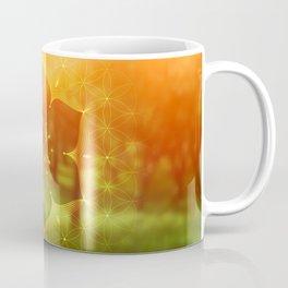 hidden refuge |  flower of life Coffee Mug