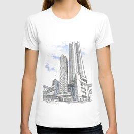 Hong Kong continuity of towers T-shirt