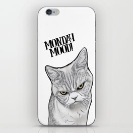 Monday Mood! iPhone Skin