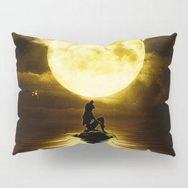 Beauty Mermaid Starry Night Pillow Sham