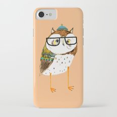 Owl Hipster iPhone 7 Slim Case
