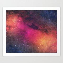 Born In Nebula #society6 Art Print
